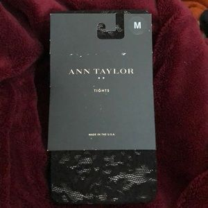 🌹Ann Taylor Lace Floral Tights - size M🌹